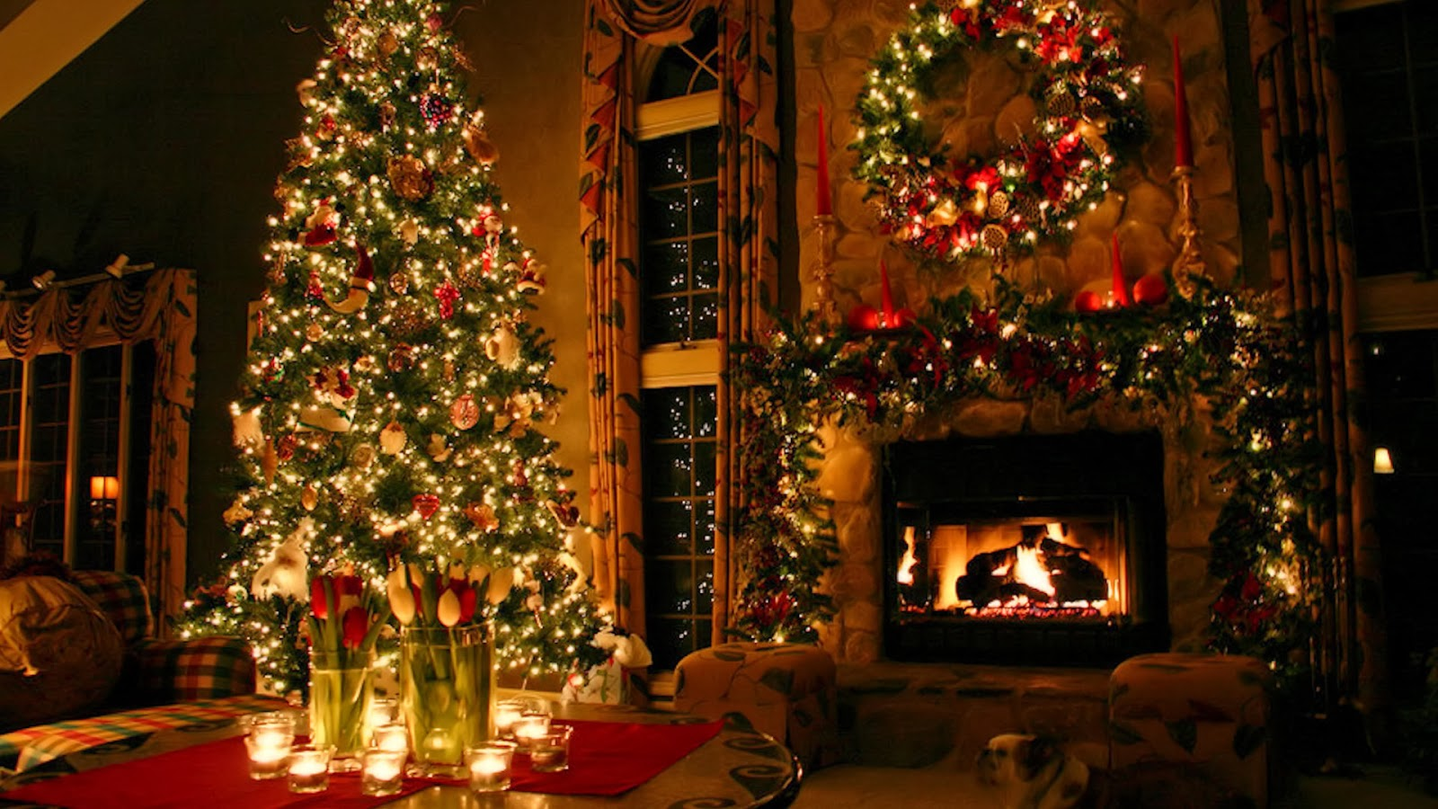 Christmas decorations ideas world top blogger Holiday decorated homes