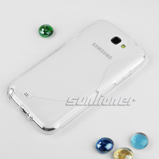 TPU Silicone Case Skin Cover for Samsung Galaxy Note II,Note 2,N7100