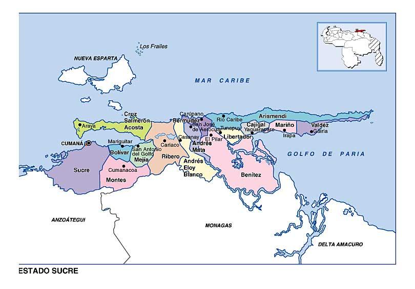 venezuela estado sucre: