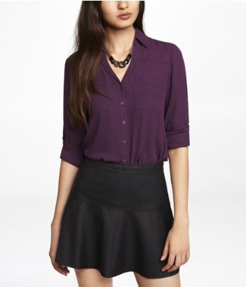 express wine portofino blouse top