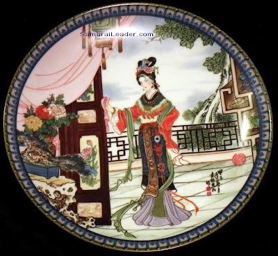 Hsi-feng plate Imperial Jingdezhen Porcelain