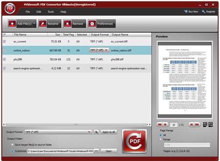 4Videosoft PDF Converter Ultimate v3.1.28
