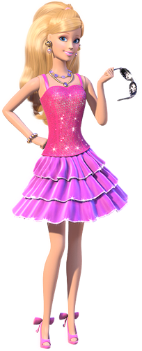 Mundo pink da barbie barbie life in the dreamhouse png - Image de barbie ...