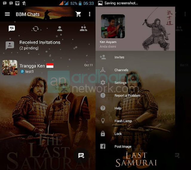 Preview BBM The Last Samurai