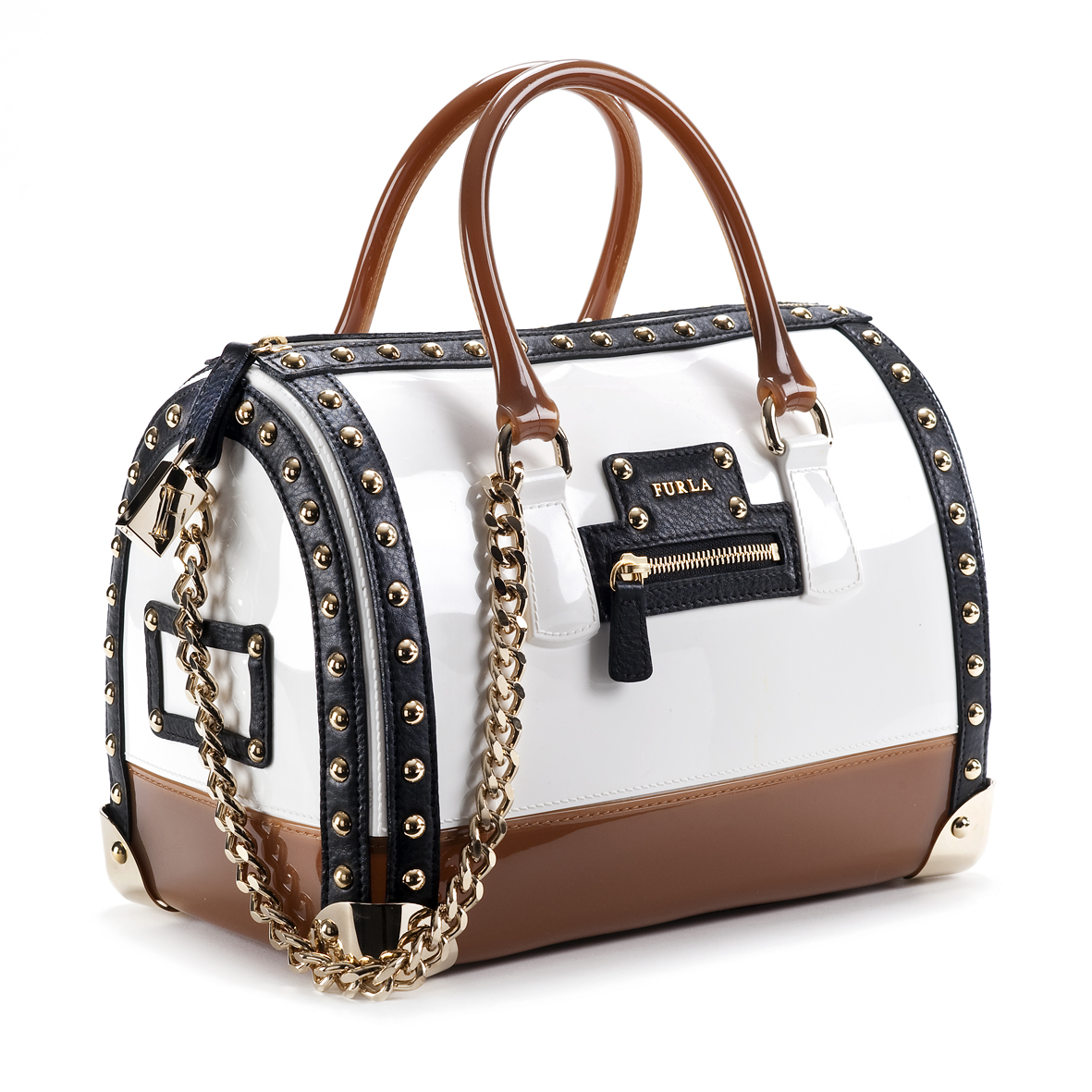 Handbag - Crystal Cross & Crisscross Pattern W/Single Strap - LRG - Turq (OP)