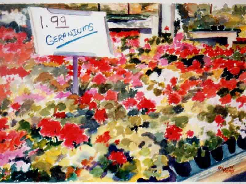 Kaysmithbrushworks Geraniums For