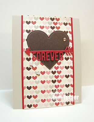 Forever card-designed by Lori Tecler/Inking Aloud-dies from My Favorite Things