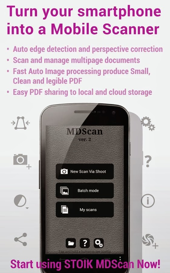 Mobile Doc Scanner (MDScan) v2.0.42