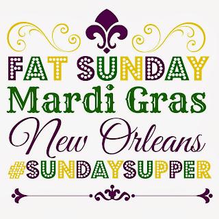 Fat Sunday/Mardi Gras logo - lacocinadeleslie.com