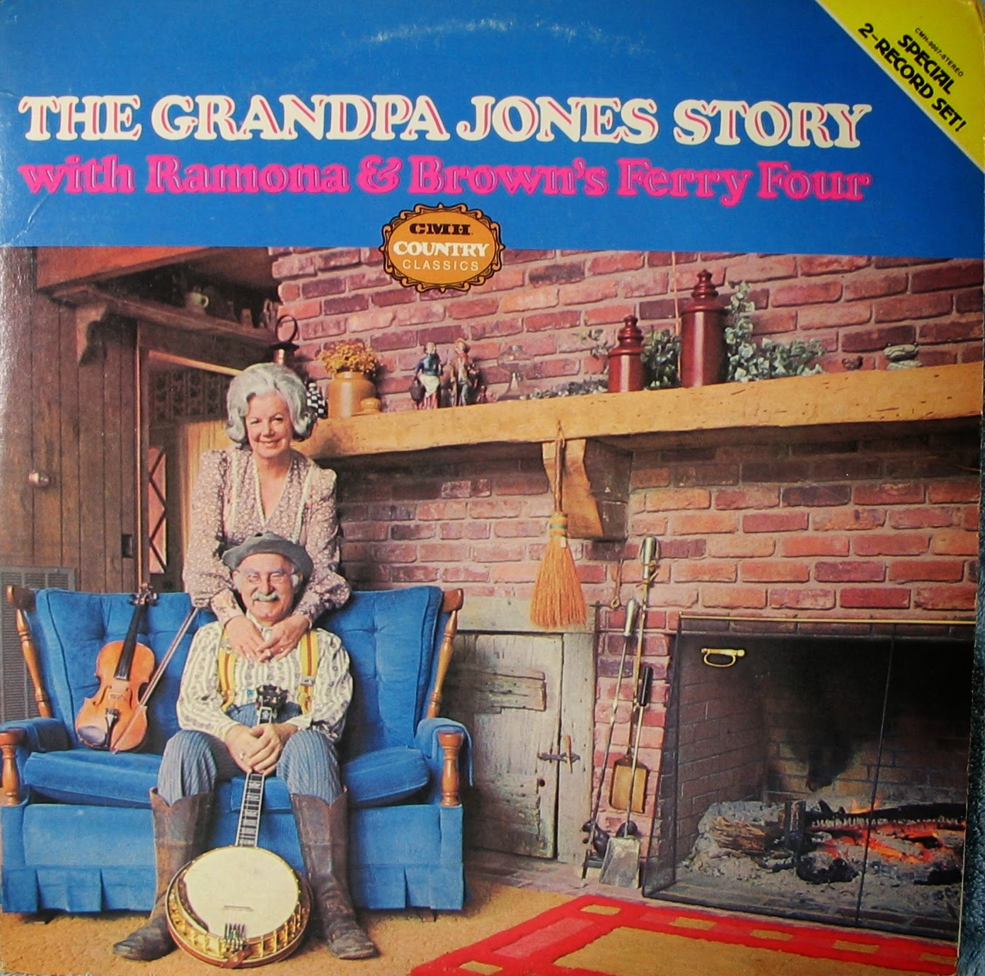 Allen`s archive of early and old country music.: The Grandpa Jones Story