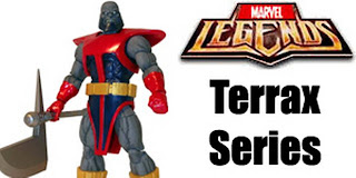 Marvel Legends 2012 Terrax BAF wave 1 Return MOC  Fantastic Four Galactus Herald Avengers Stealth Extremis Armor 6 inch figure Hasbro variant Constrictor Commander Steve Rogers Captain America Secret Hope Summers X-men Iron Man Tony Blue Ghost Rider Thor Klaw
