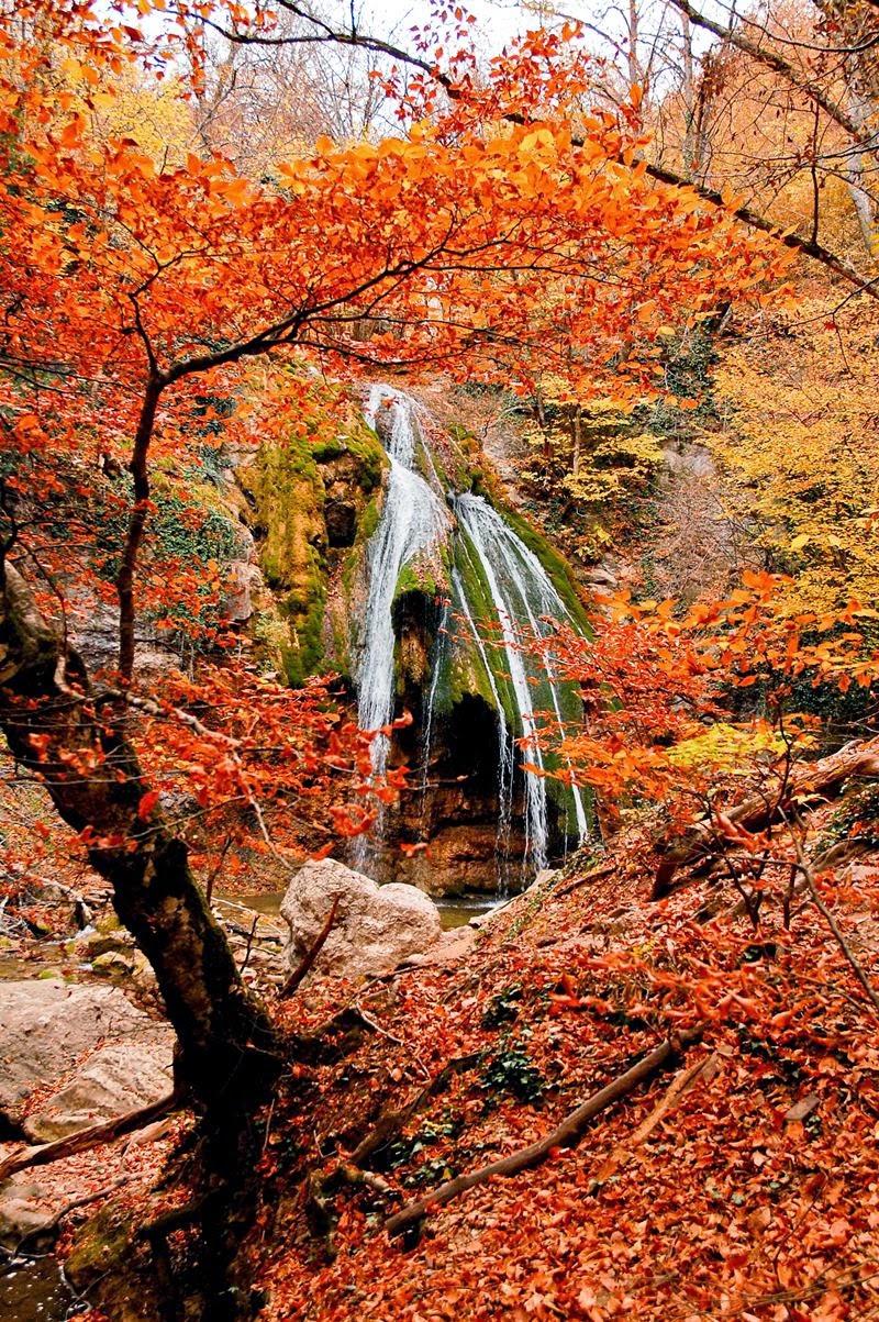 Dzhur-Dzhur waterfall.
