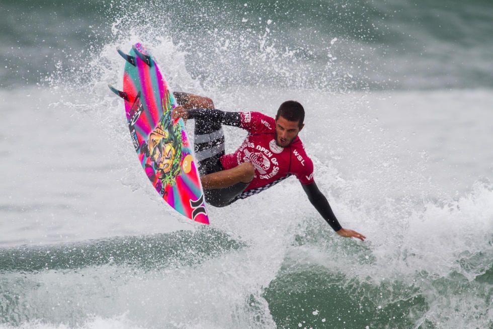 16 Filipe Toledo BRA Mens Vans US Open of Surfing WSL Sean Rowland