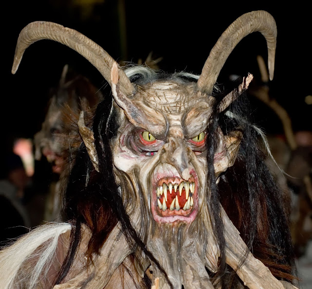 Terrifying Krampus Mask