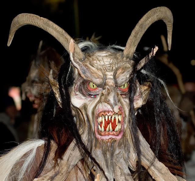 Terrifying Krampus Mask