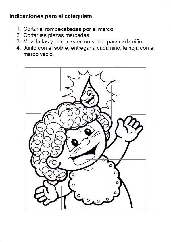 Excepcional Hojas De Bautismo Para Colorear Foto - Dibujos Para ...