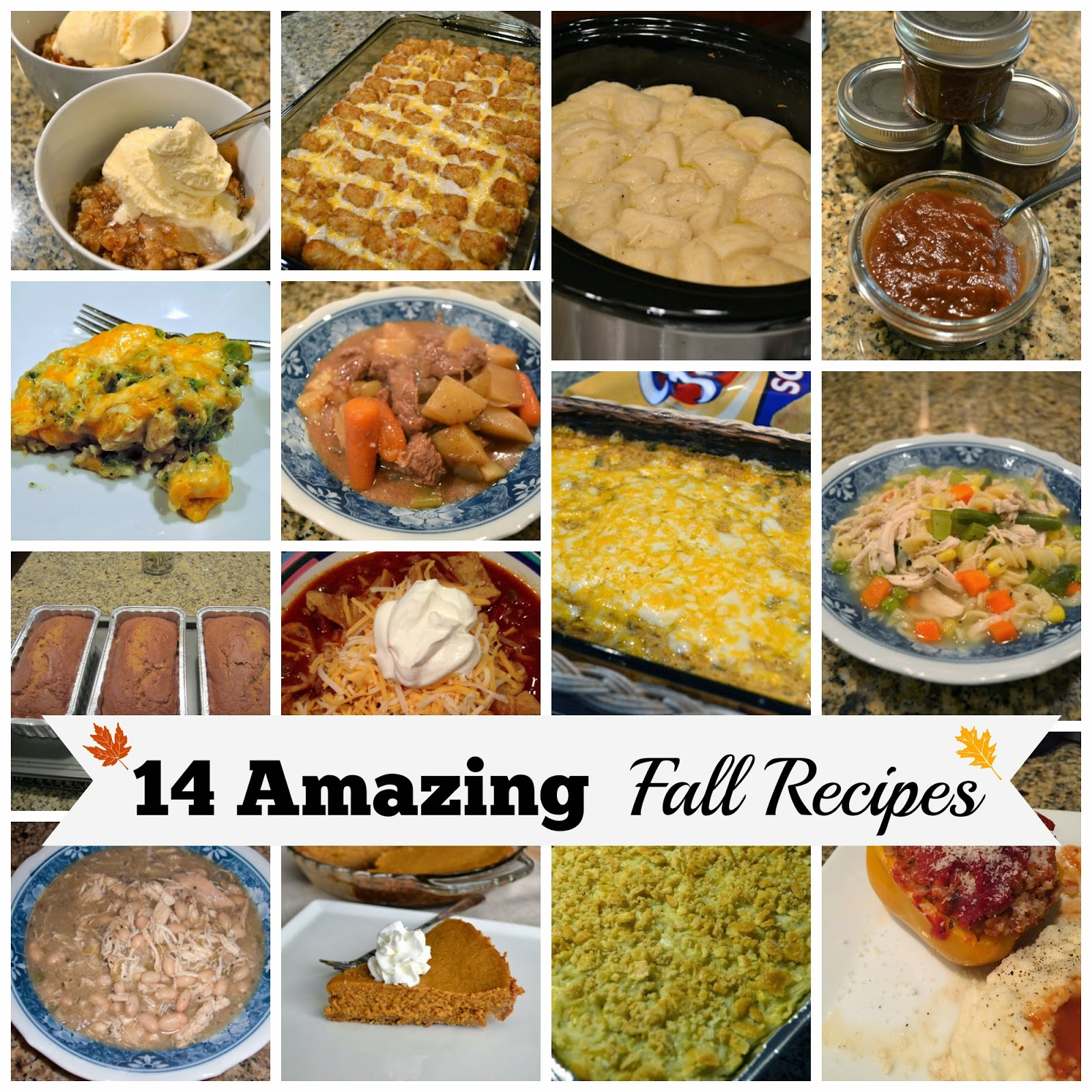 14 Amazing Fall Recipes