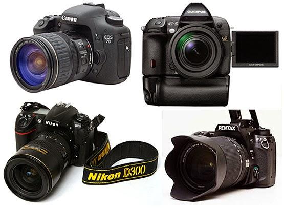 اختيار الكاميرا