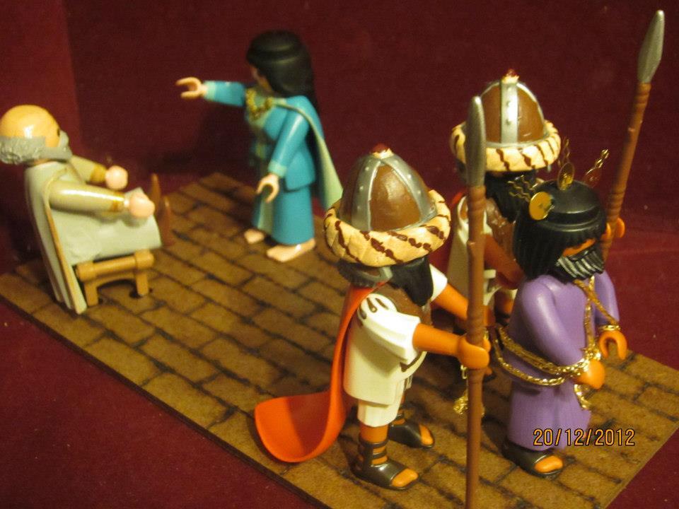 Los Dioramas Cofrades de La Tienda del Playmobil Capillita