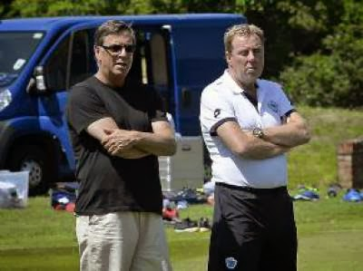 Ian Broomfield & Harry Redknapp
