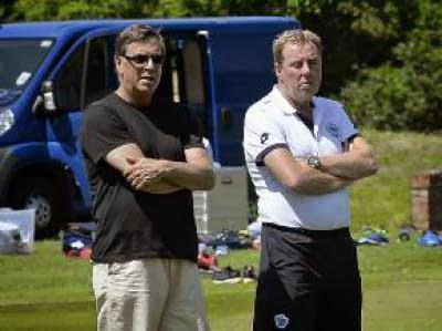 Ian Broomfield & Harry Redknapp