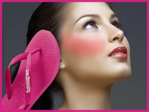 blush rosa errado