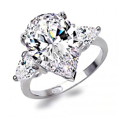 Design Wedding Rings Engagement Rings Gallery Stunning Pear Shape Emerald A