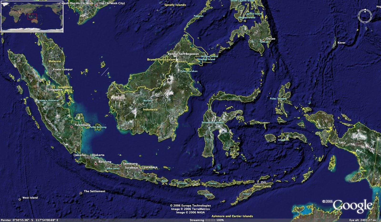 Jumlah pulau du negara indonesia
