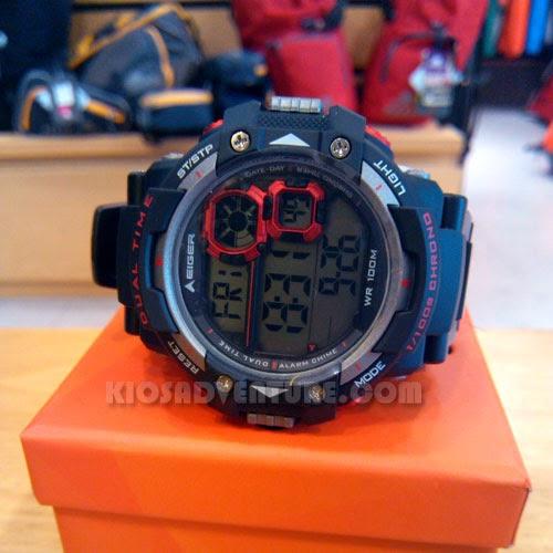 Jam Tangan Eiger IYW0098 LCD Watch