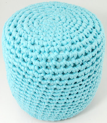 free crochet stool pattern
