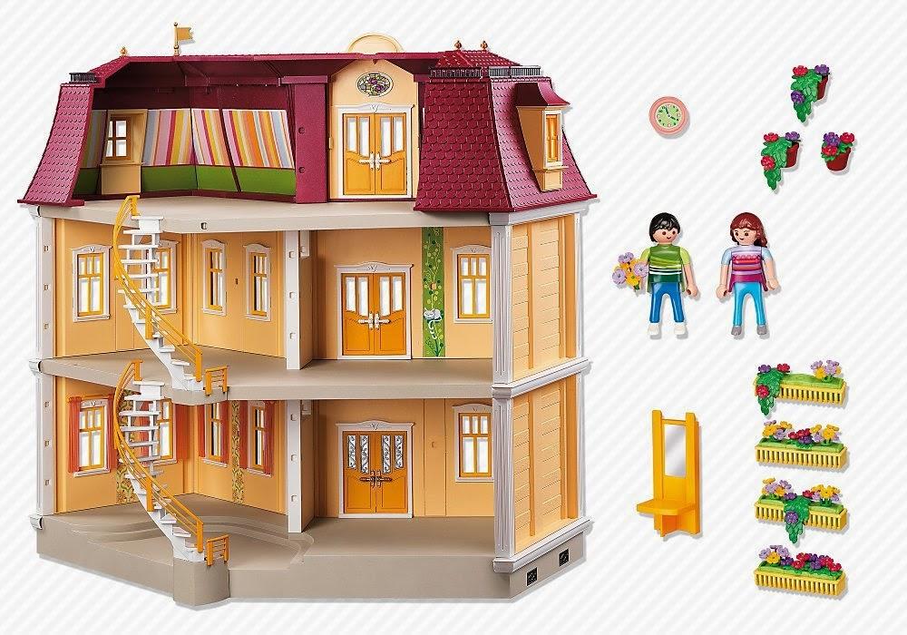 Mejor playmobil 5302 casa de muecas casas de mu ecas modernas - Gran casa de munecas playmobil ...