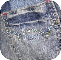 ProsperityStuff Denim Jeans Quilt detail 3