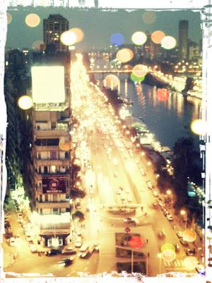 cairo sheraton hotel view