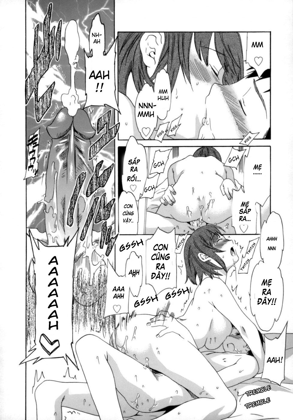 Truyện Hentai Mẹ rất yêu con