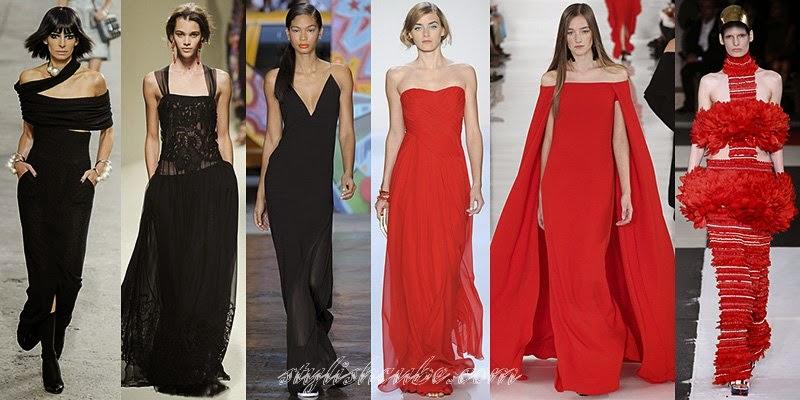 Summer 2014 Women's Evening Dresses Fashion Trends