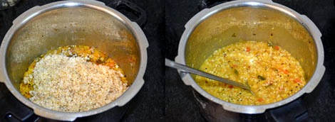 bulgur khichdi recipe