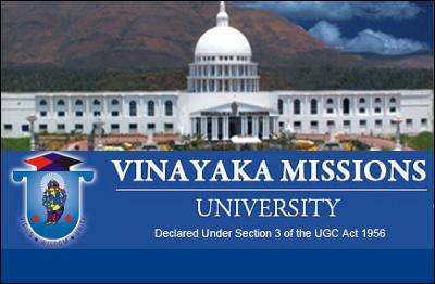 VMU Salem - Vinayaka Missions University, Admission 2018 ...