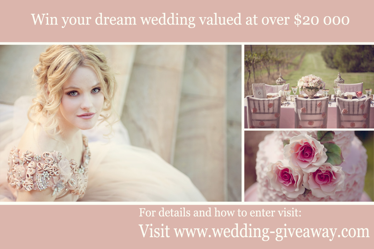 Wedding Giveaway Ideas 2012 : 2013 Brisbane BridesWedding Giveaway!