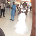 [PHOTO]: Runaway Bride Spotted in Lekki