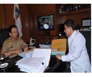 Ahok dan Yuddy Bicarakan Pengangkatan 5.400 Guru Honorer DKI Jakarta