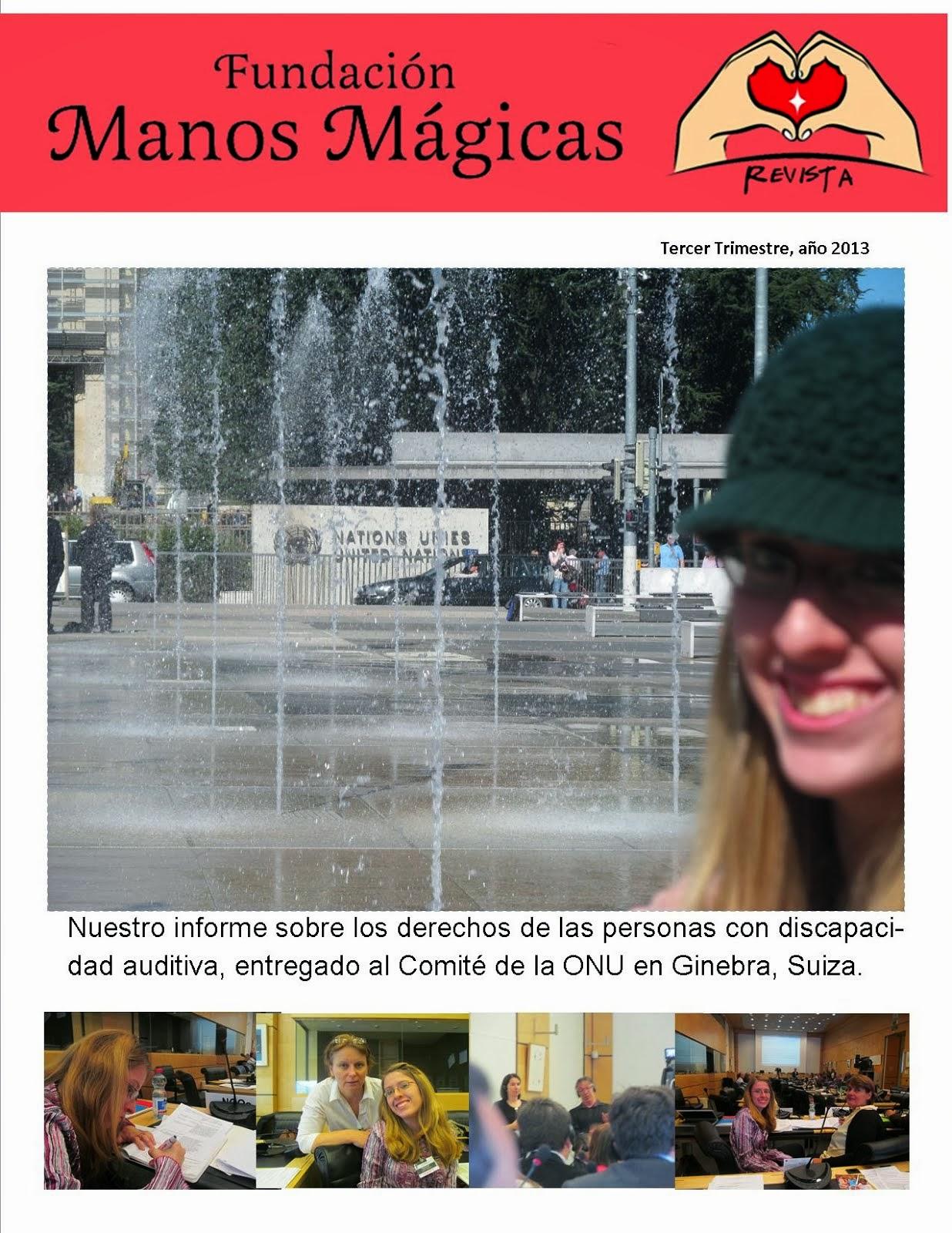 Nuestra revista trimestral número 3 del año 2013