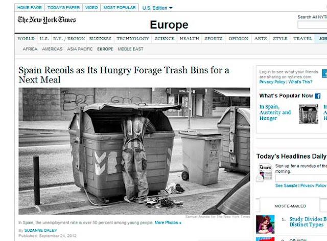 Una mirada a la crisis y al hambre en España