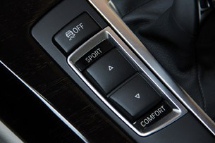 2012 BMW 6 Series Coupe driving mode controls