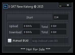 Inject Indosat New Kalong 09 Juli 2015