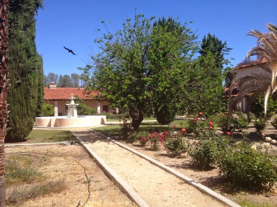 Mission style garden