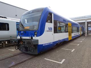 Regionalverkehr: Brandenburg: Feierliche Betriebsübergabe an NEB erfolgt
