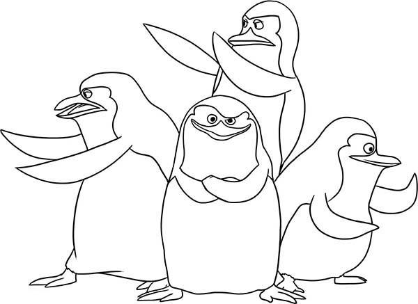 Großartig Pinguine Von Madagaskar Malvorlagen Zeitgenössisch - Ideen ...