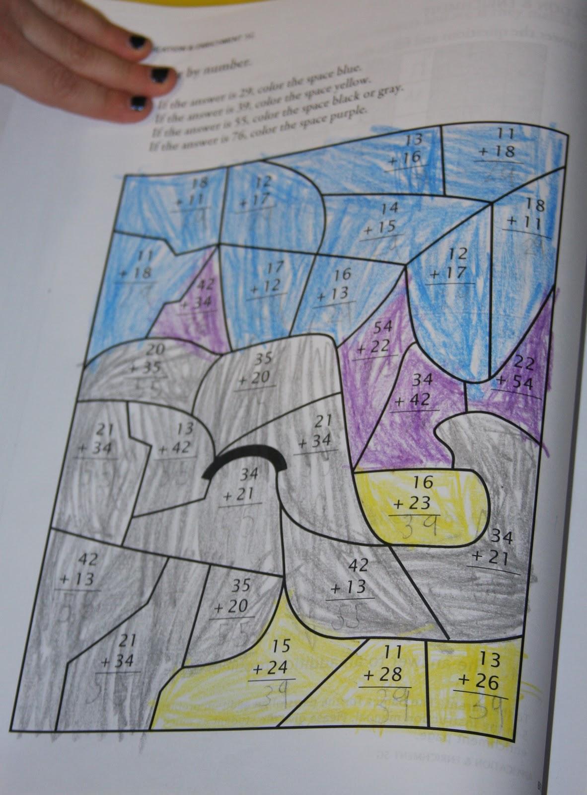 Fancy Math U See Math Drills Gallery - Worksheet Math for Homework ...