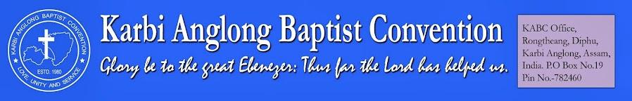 KARBI ANGLONG BAPTIST CONVENTION