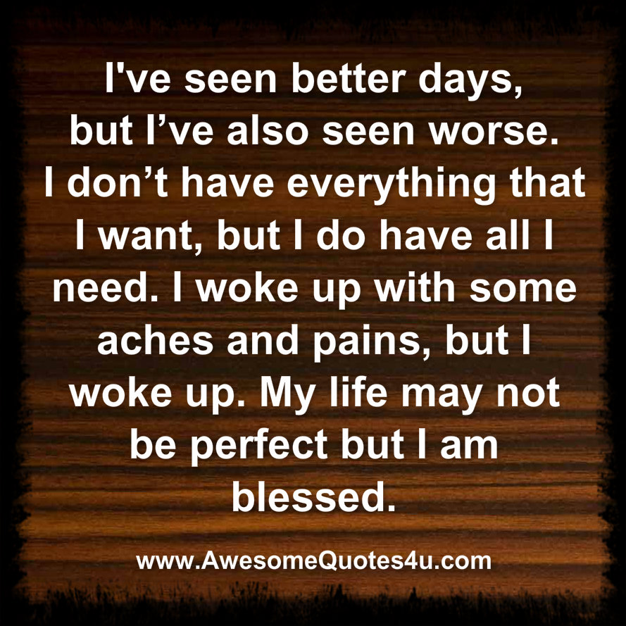 I Am Blessed Quotes Awesome Quotes: i am b...